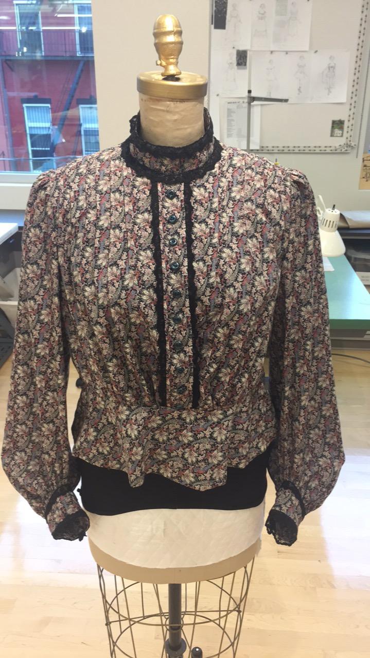 Mrs. Dickson's blouse