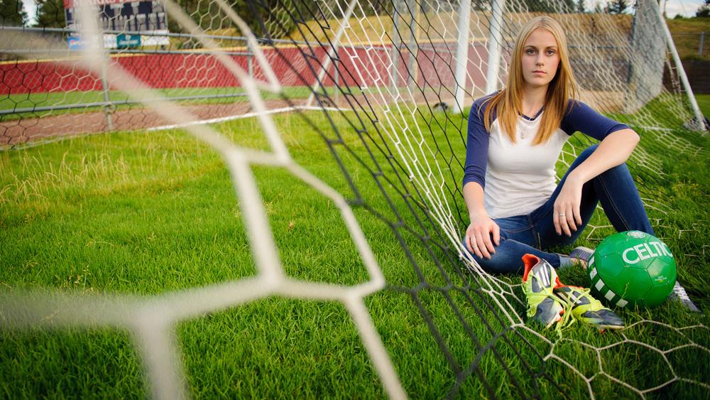 Soccer Player High School Senior