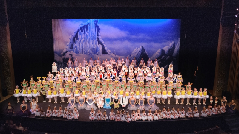 Final bows from the 2017 recital at the Fox Theater