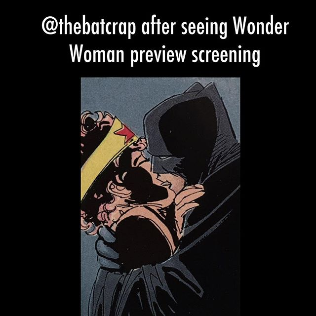 Early reviews are in. #wonderwoman #WW #batman #darkknight #darkknightreturns #thebatforce #dc #dccomics