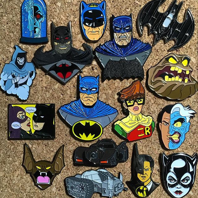 An update to the #BatForcePinboard ! Here are just some of our good Bat-friends(tagged) in the pin community who put out some awesome stuff! Definitely keep an eye out for them! [ posted by @thebatcrap ] #Batman #TheBatForce #DarkKnight #Gotham #WonderWoman #SuicideSquad #HarleyQuinn #TheJoker #JusticeLeague #Marvel #StarWars #Podcast #DcComics #BatForceStrong #EnamelPins #Pingame #Lapelpins