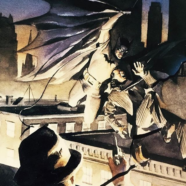 The iconic very first image of Batman from the cover of Detective Comics 27 by the incomparable Alex Ross after Finger/Kane.  #Repost @thealexrossart (@get_repost) ・・・ #classic #batman #darkknight . . Post by @triplej18 . . . . . . . . . . . #BillFinger #AlexRoss #DetectiveComics27 #TheBatman #TeamBatman #FamilyOfBats #BatmanFamily #CultOfTheBatman #MarkOfTheBat #BatmanCollector #BatmanCollection #TheBatForce #BatForceAndChill #TheBatCrap #Gotham #TheGrumpler #GrumplerApproved #GrumpWithMe #BruceAceWayneRebirth #Smil