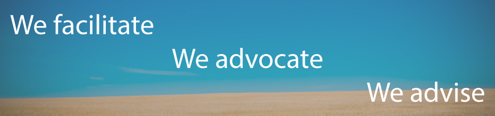 We FACILITATE, We Advocate, We Advise