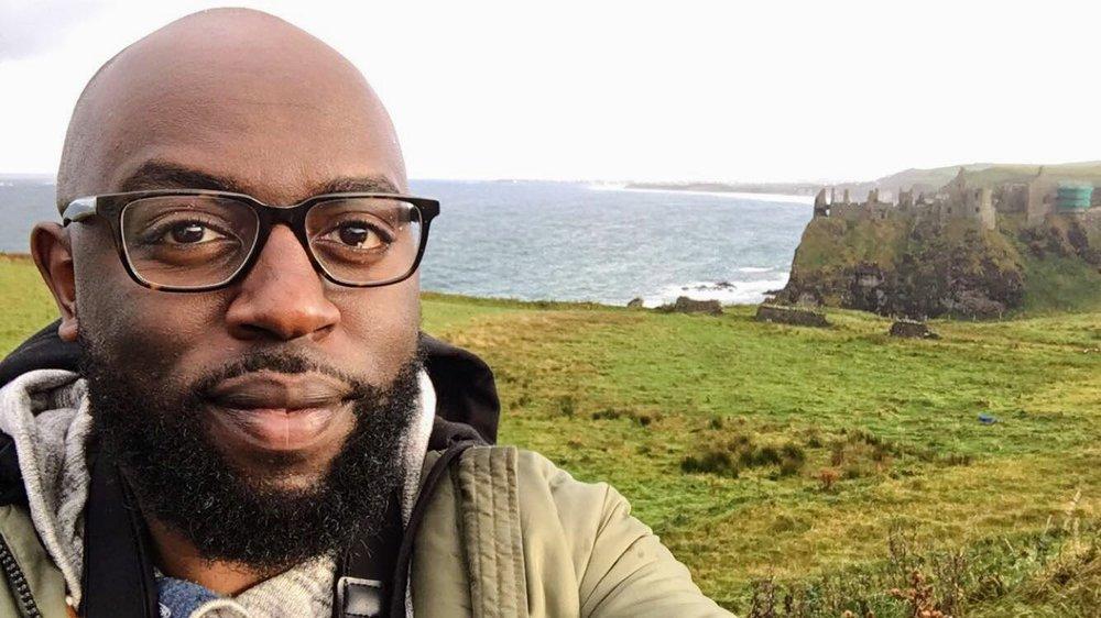 Dunluce Castle Selfie (i)
