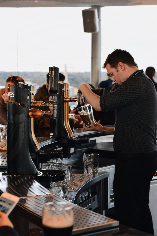 Pint at The Gravity Bar