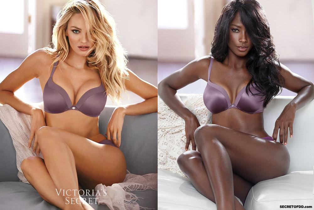Candice Swanepoel (L) / Deddeh Howard (R) - Victoria's Secret