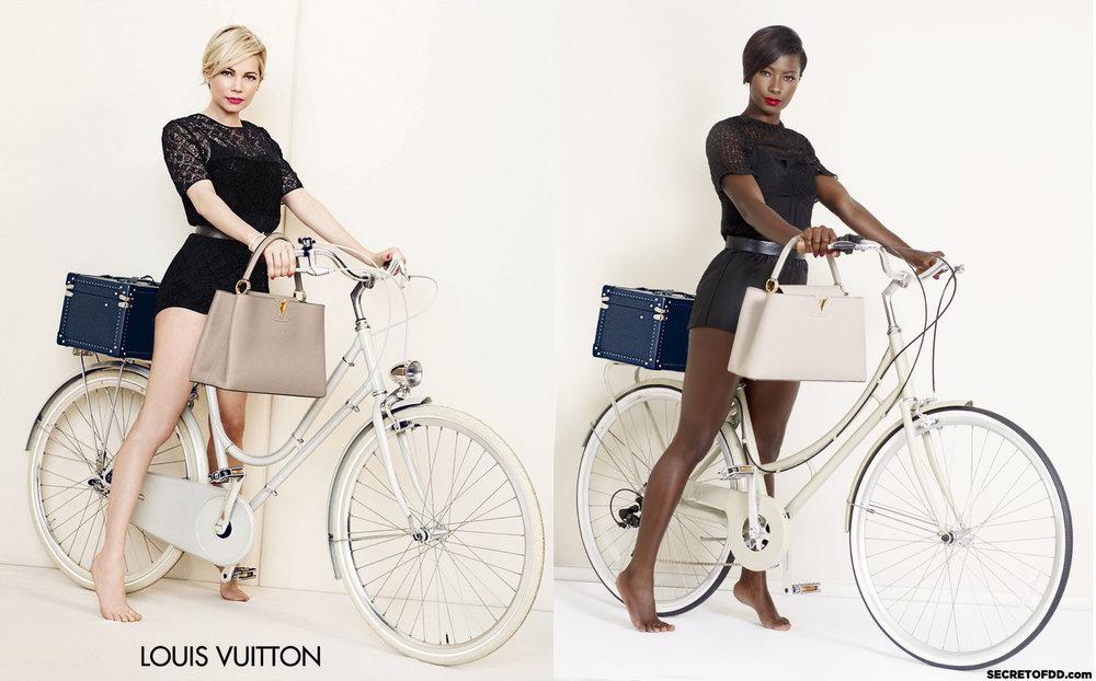 Michelle Williams (L) / Deddeh Howard (R) - Louis Vuitton