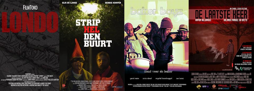 POSTERS AVOND VAN DE ALMEERSE FILM FILMS