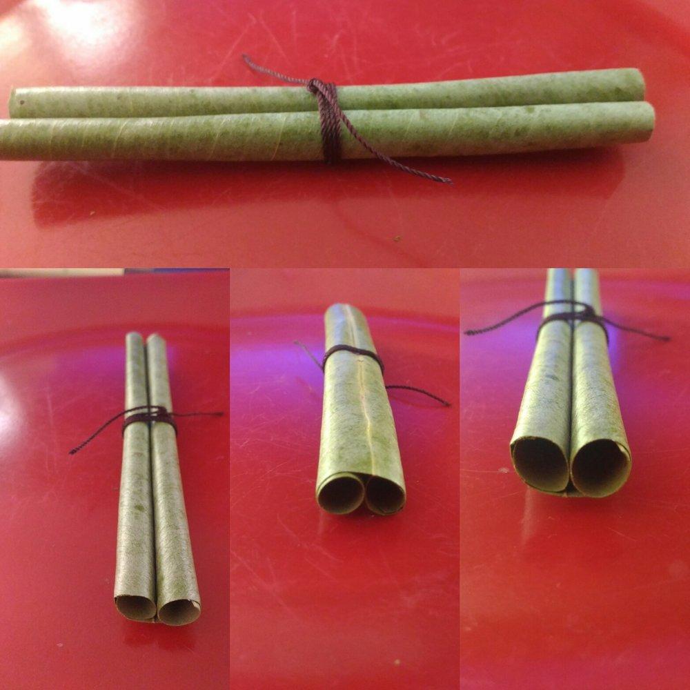 Double Barrel Blunt Wrap