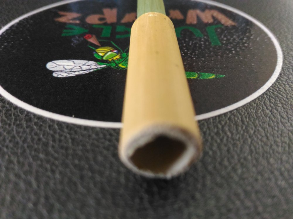 Bamboo Leaf One Hitter Bowl - Disposable - Bio-Degradable