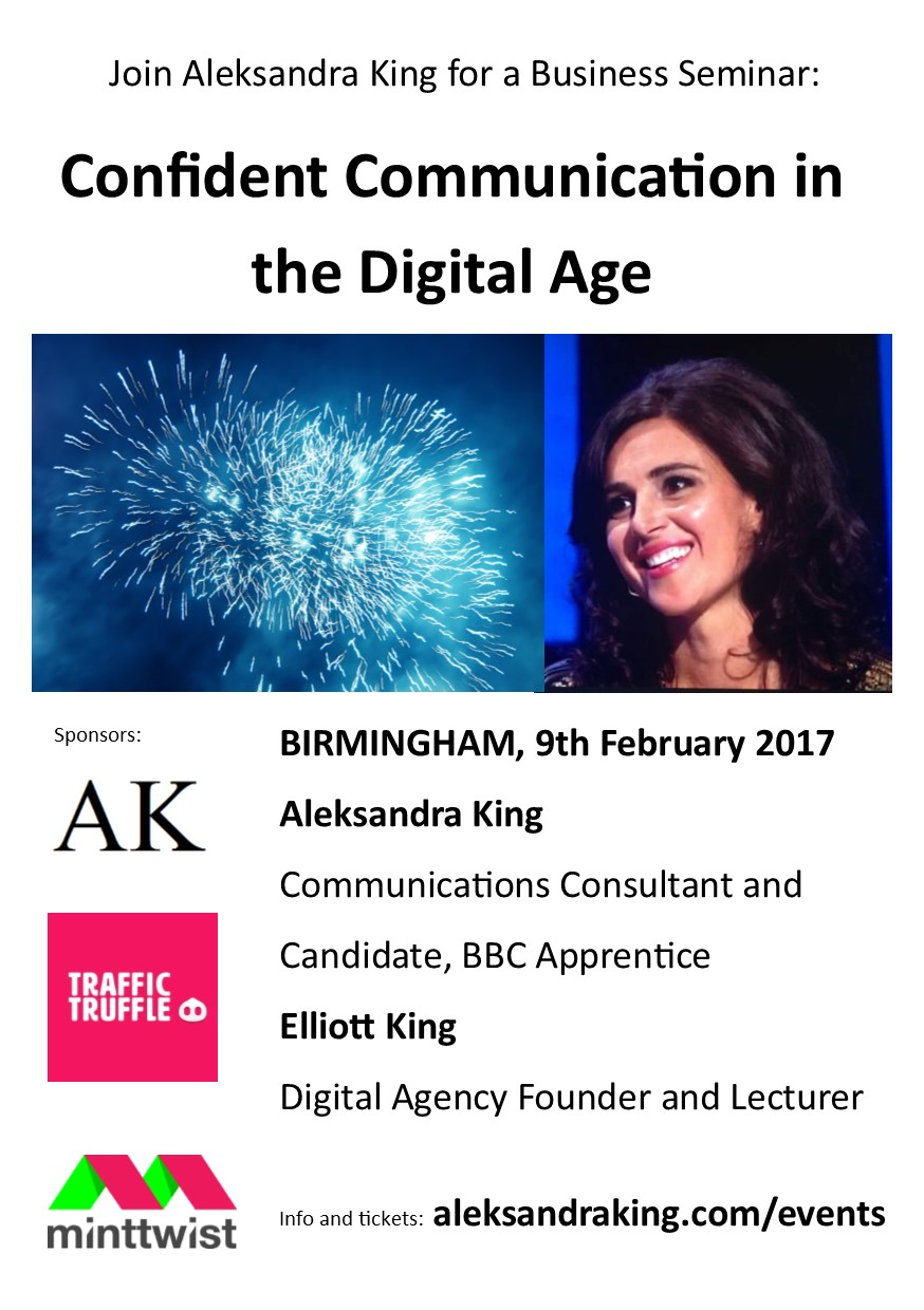 Aleksandra-King-Communications-Master-Class-Birmingham