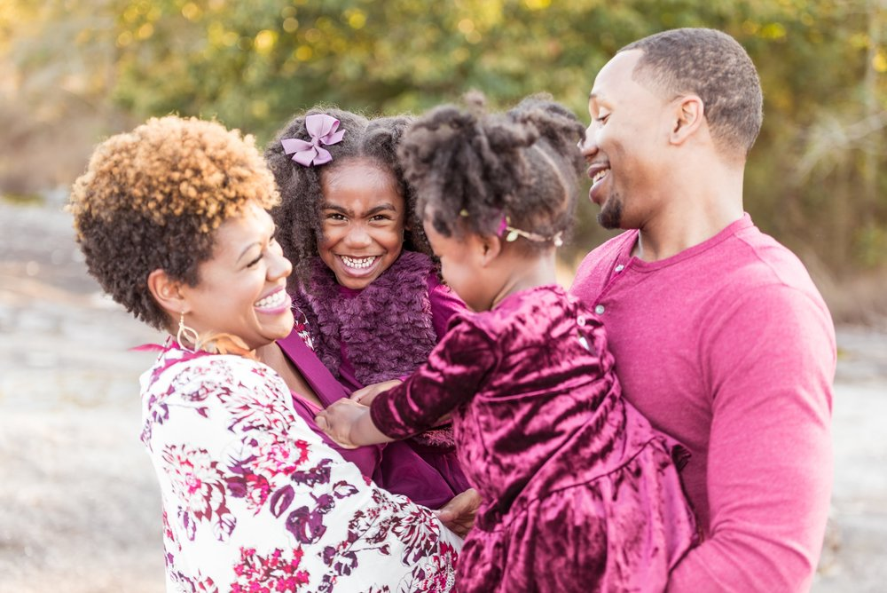 Maupin Holiday Portraits - Family session in Lithonia Georgia
