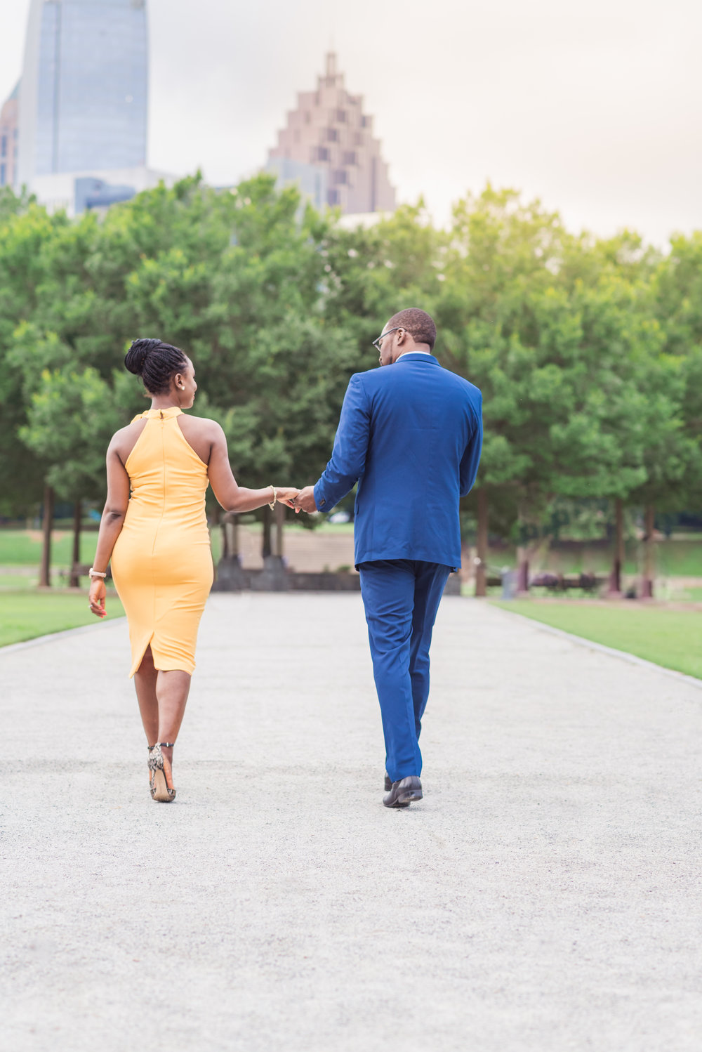 Atlanta Engagement Session - Piedmont Park