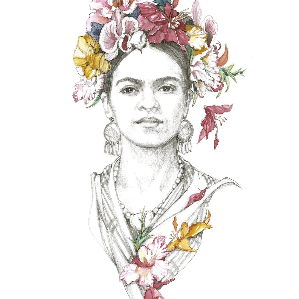 Frida Florida - Signed Print