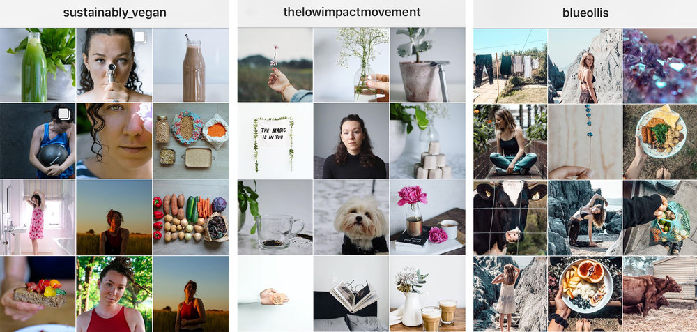 Some of my favourite Low Impact online influencers -