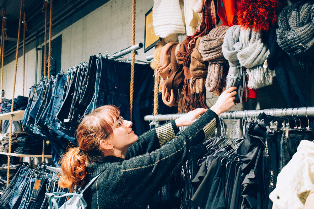 Clothing shopper? This holiday season, why not try choosing independent shops or even some second hand items!