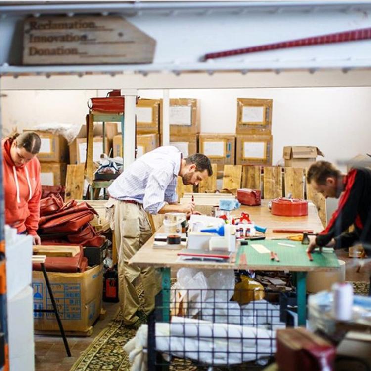 Elvis & Kresse's workshop in Kent, UK