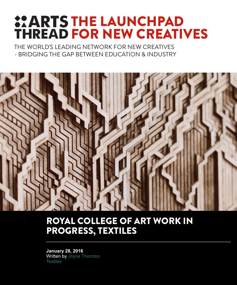 Arts Thread, January 2016