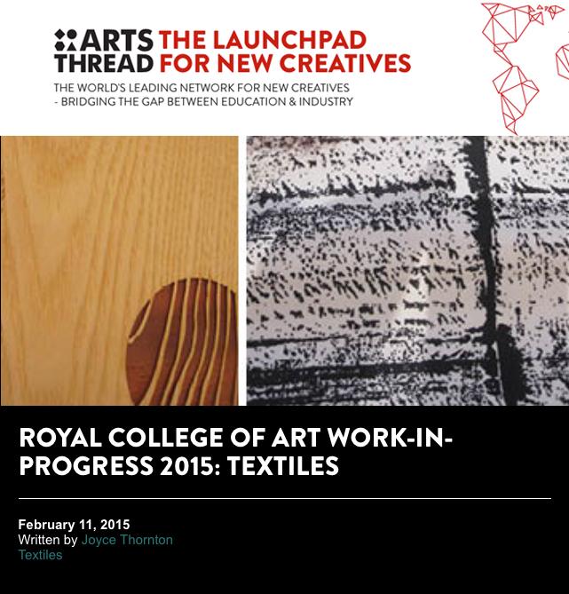 Arts Thread, February 2015
