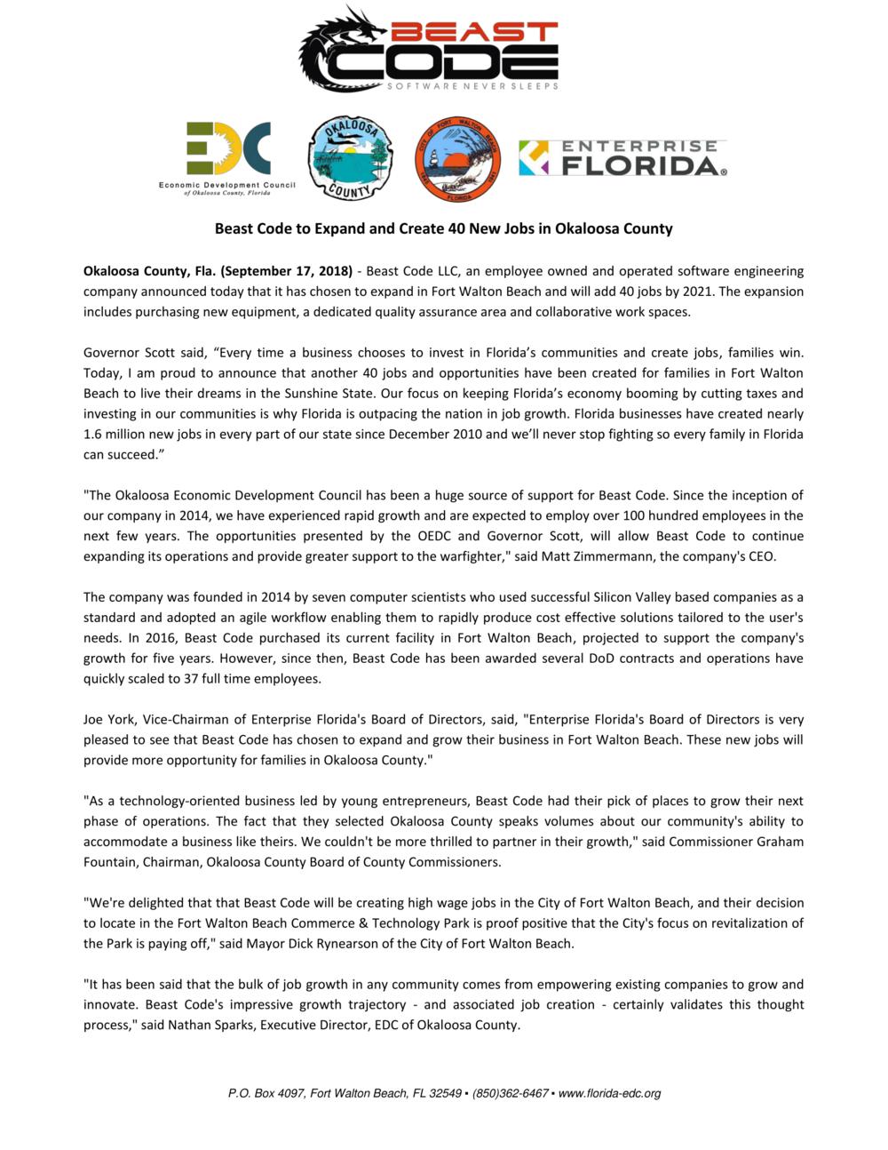 Beast Code Press Release - 9.17.18-1.png
