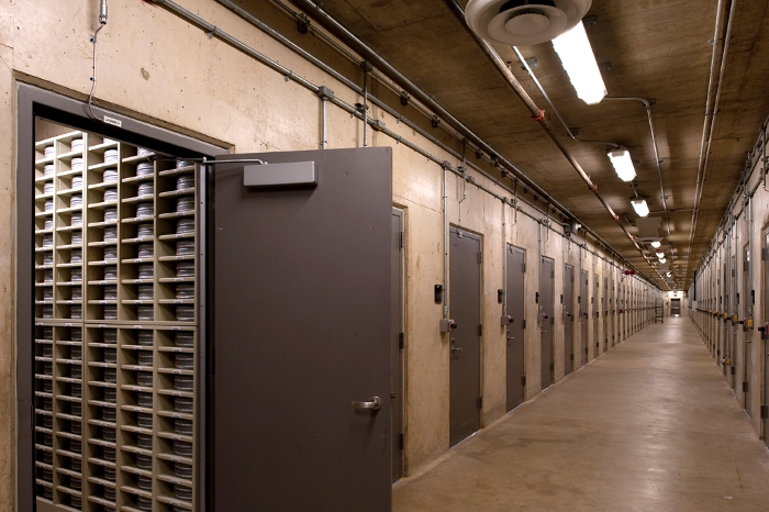 Storage vaults. AOC photo