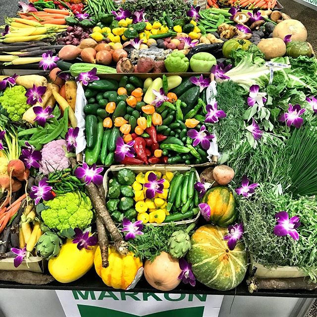 Wow the beautiful array of produce here reminds me to include more fruits and veggies in each masterpiece. #fresh #vegetables #delicous