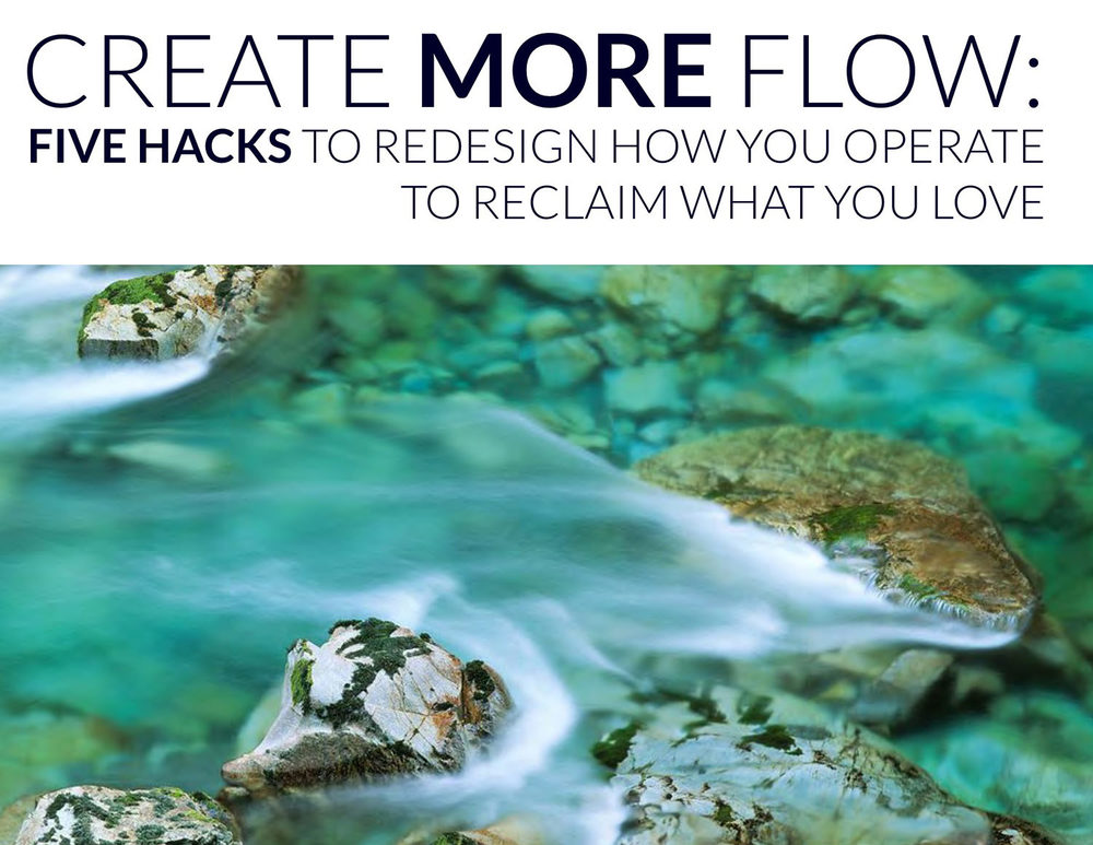 create more flow ebook cover image