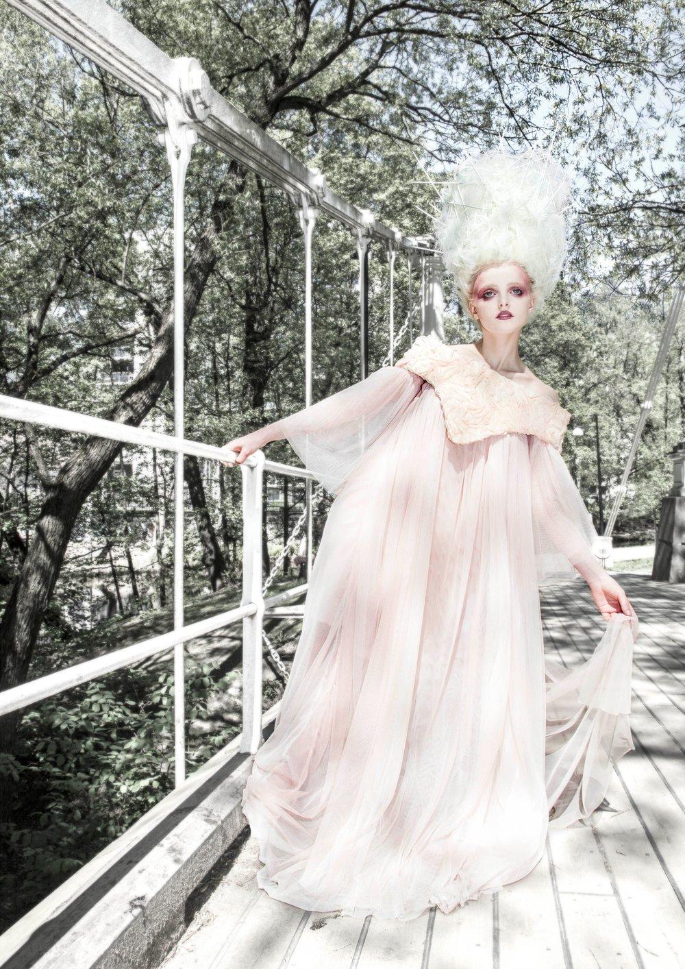 Model: Isabel Sande / Hair & makeup: Kristina Tønnessen and Tova Marlen Raum / Photo: Christer Bell