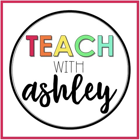 ❤️Hey everyone!!! 🧡Did you see my stories yesterday? 💛I've changed my name! 💚My new name is 'Teach with Ashley'! 💙My old logo will be up for a little bit longer as I transition. 💜When you see this new logo- it's me!💁🏼‍♀️