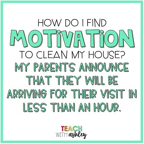 Every single time.😂 Nothing like the impending arrival of guests to get me into gear! How do you pump yourself up when you need to tidy up?