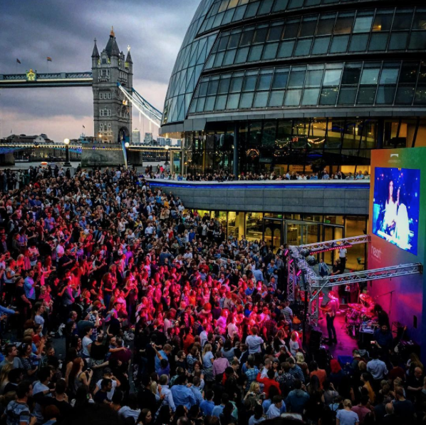 Massaoke at LBC Summer Festival, London