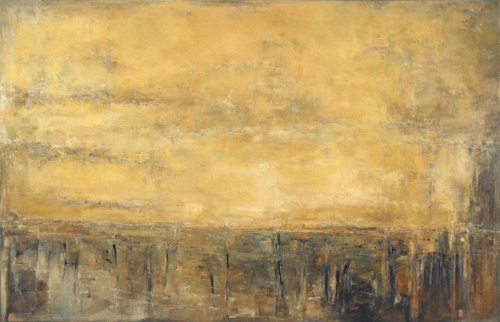 Venecia 2017,  Öl auf Leinwand 158x101cm
