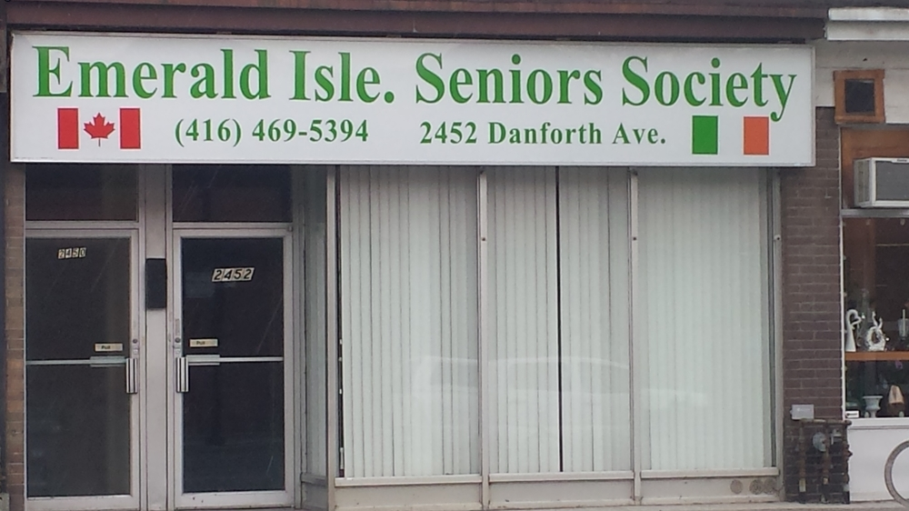 Our new location on Danforth Avenue, Toronto just west of Main Street and the TTC subway station. Meter parking on street or car parks nearby.