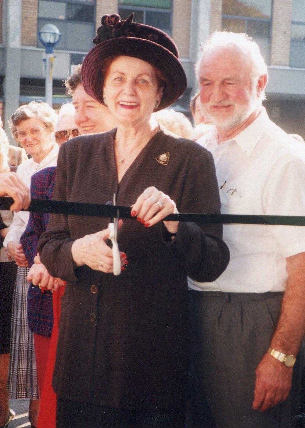 Peggy Delaney & Pat Rooney