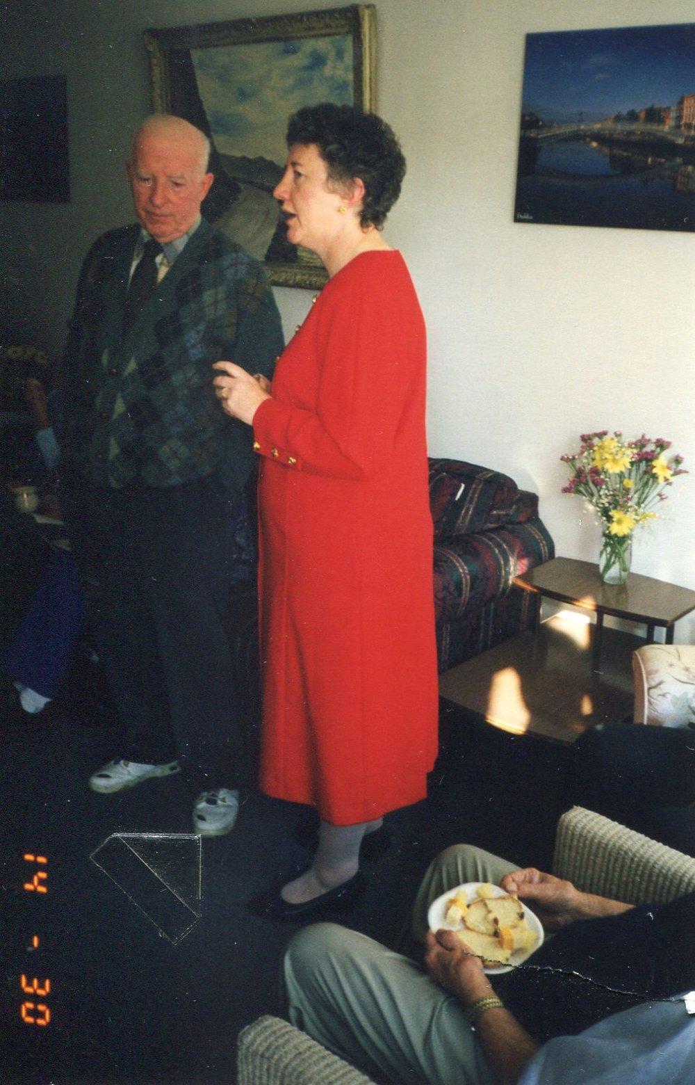 Dr. Jacinta O'Halloran & Jim McCaffrey