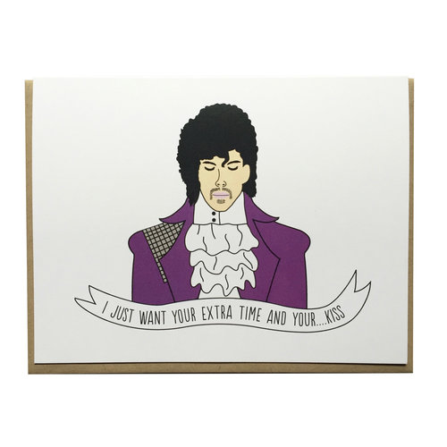 Prince Greeting Card Arthur S Plaid Pants
