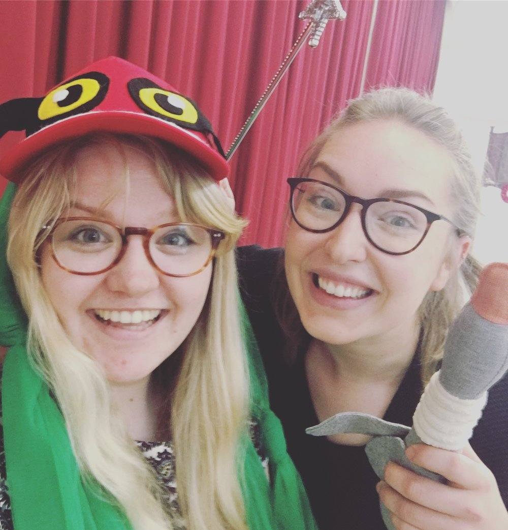 The Directors of 'There is NO DRAGON in this story'. Queensferry Primary Drama Club, 2018.