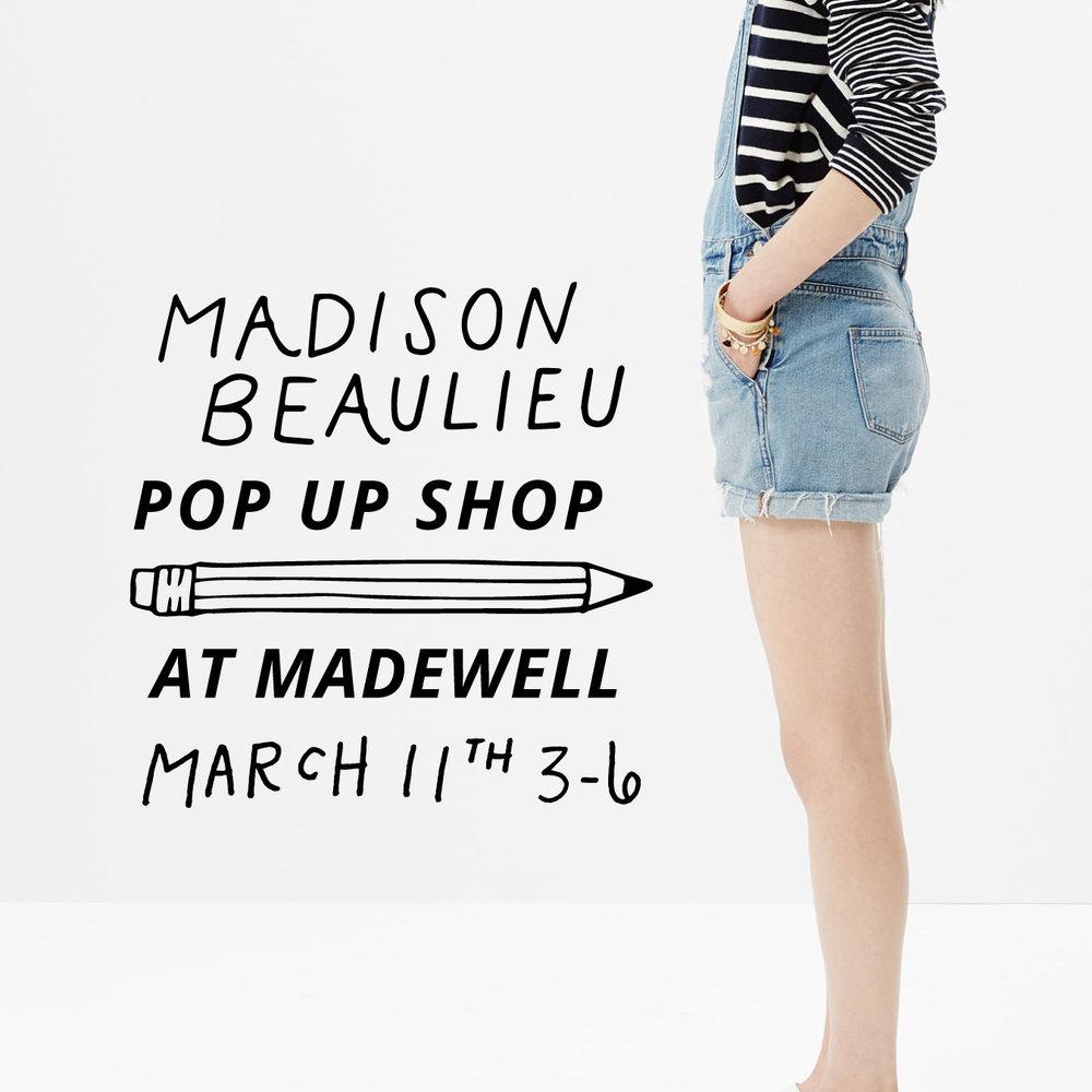 Pop Up Shop Invite Madewell Perimeter