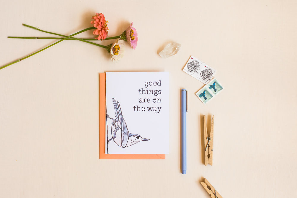 Good Things are on the Way Card