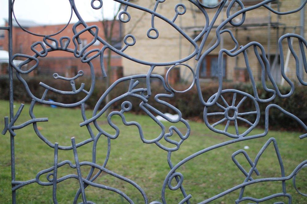 Stonebridge Park Railings