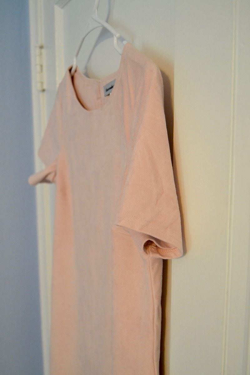 abercrombie-pink-suede-dress