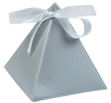 silver pyramid box