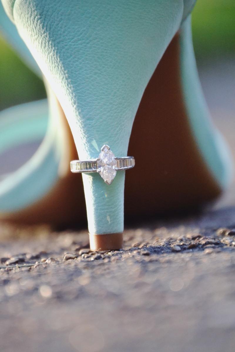 ring on high heel