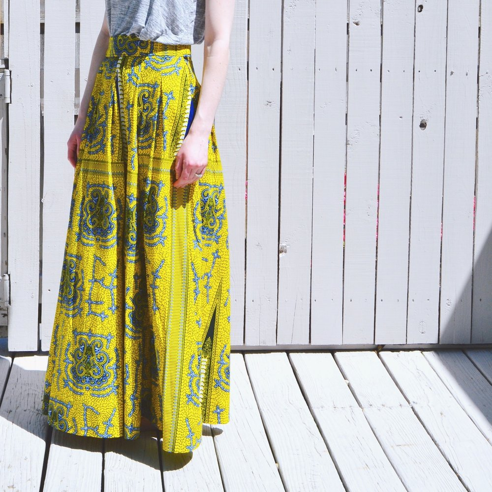yellow_maxi_skirt