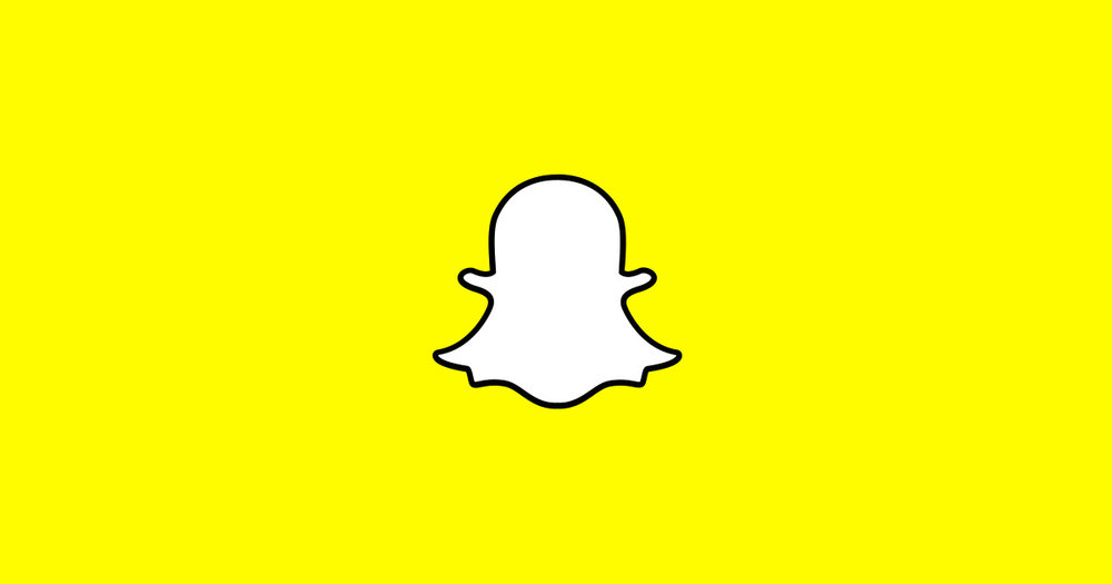 Turns out this ghost-y guy is Snapchat's logo