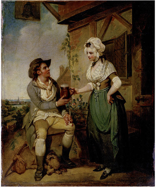 At the Inn Door by Harry Singleton