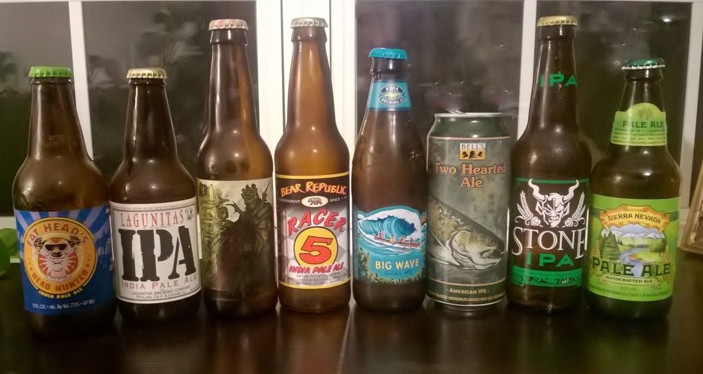 i tried it american pale ale and ipa blind tasting under the