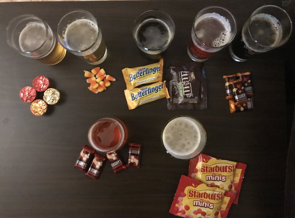 Beer & Candy.UndertheJenfluence