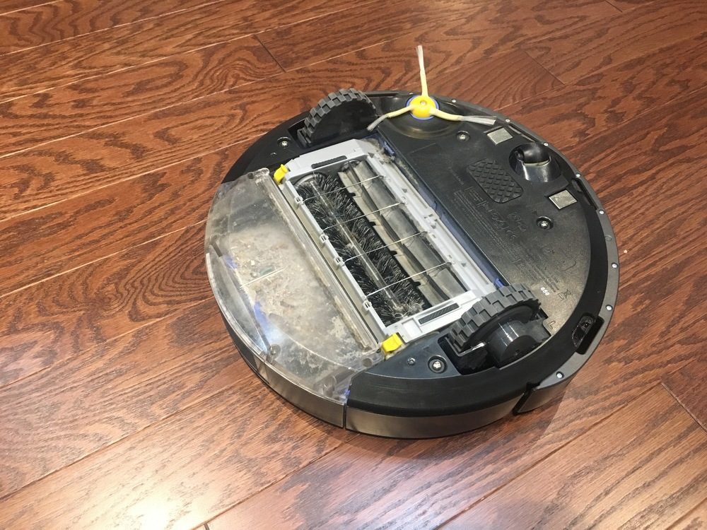 Best Mom - Roomba underside