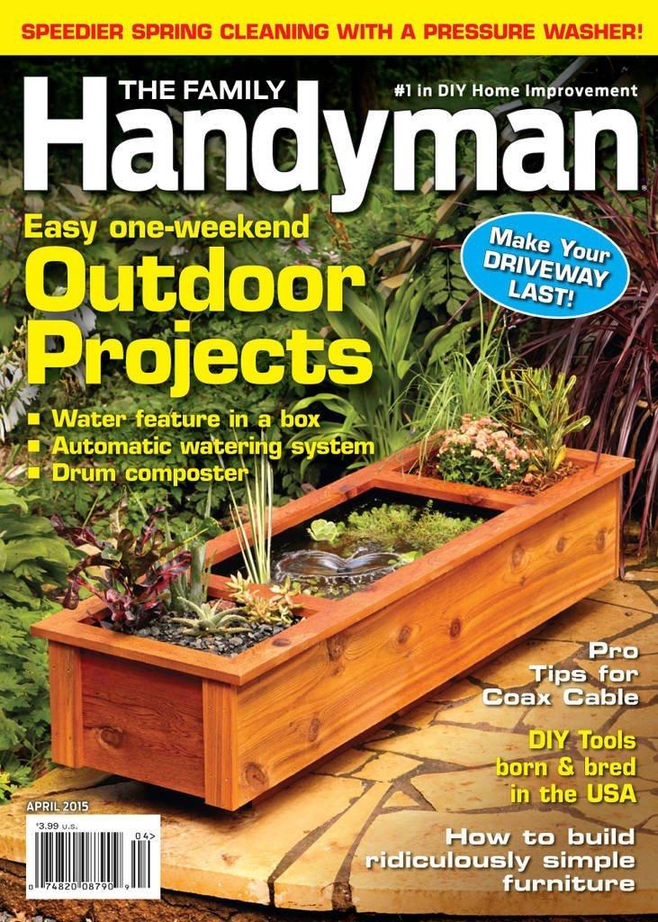 2 year Family Handyman subscription | $13